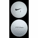 Nike Golf- One Platinum Near Mint Golf Balls With Shag Bag *3-Dozen*