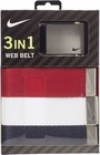 Nike Golf- Patriotic 3 In 1 Web Belt