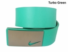 Nike Golf- Sleek Modern Plaque Belt *Closeout Colors*