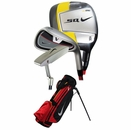 Nike Golf- TW Junior Red Set W/Bag (Ages 5-7)