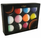 Nitro 2015 Eclipse Golf Balls White
