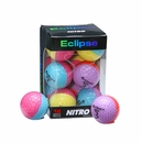 Nitro Golf- Ladies Eclipse Multi-Colored Golf Balls
