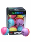 Nitro Ladies Eclipse Multi-Colored Golf Balls