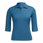 Nivo Golf- Ladies 3/4 Sleeve Polo Shirt