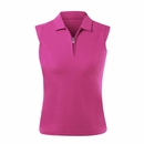 Nivo Golf- Ladies Essential Sleeveless Polo