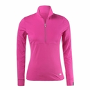 Nivo Golf- Ladies Long Sleeve Zip Mock
