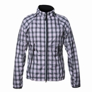 Nivo Golf- Ladies Waterproof Plaid Windbreaker (Zip Off Sleeves)