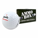 Noodle- Assorted Mix Near Mint Used Recycled Golf Balls *3-Dozen* Ammo Box