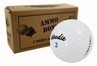 Noodle Assorted Surlyn Mix Mint Used Golf Balls *3-Dozen*
