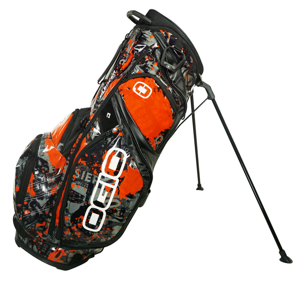 Ogio Golf 2015 Silencer Rock N Roll Limited Edition Stand Bag