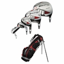 Orlimar Golf- HE2 2/8 Combo Complete Set With Bag Graph/Steel