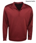 PGA Tour Golf- 1/4 Zip Heather Fleece