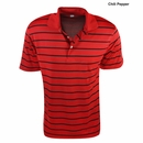 PGA Tour Golf- Striped AirFlow Polo