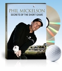 Phil Mickelson- Secrets of the Short Game Golf Training DVD (2-DISC)