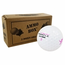 Pinnacle Pink Ribbon Logo Overrun Golf Balls *3-Dozen*
