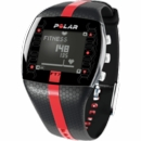 Polar- FT7M Heart Rate/Calorie Monitor Watch Black/Silver 90039170