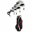 Powerbilt Golf- Air Attack 2 Complete Set With Bag Graphite/Steel