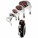 Powerbilt Golf- Grand Slam Complete Set With Bag Graph/Steel
