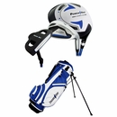 Powerbilt Golf- Junior Blue 6 Piece Set With Bag Ages 5-8