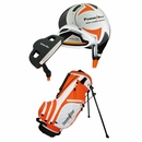 Powerbilt Golf- Junior Orange 5 Piece Set With Bag Ages 3-5