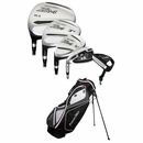 Powerbilt Golf- LH ZR-4 Complete Set With Bag Graphite/Steel (Left Handed)