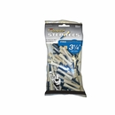 "PrideSports Golf- 3 1/4"" Pts Step Tees 50 Pack Golf Tees Natural/Blue"