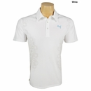 Puma Golf- Geometric Jacquard Tech Polo Shirt