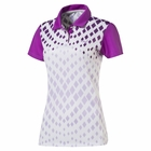 Puma Golf- Ladies Diamond Graphic Polo