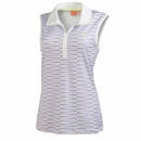 Puma Golf- Ladies Dot Sleeveless Polo
