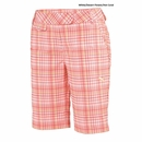 Puma Golf- Ladies Plaid Tech Bermuda Shorts