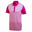 Puma Golf- Yarn Dye Stripe Block Polo Shirt