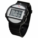 PUMA - Half Time L Digital Dial Rubber Sport Watch