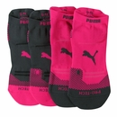 Puma- Ladies 2 Pack Microfiber Pro Tech Socks