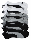 Puma Mens 6-Pack 1/2 Terry Low Cut Runner Socks