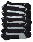 Puma Mens 6-Pack 1/2 Terry Low Cut Athletic Socks Side Stripe