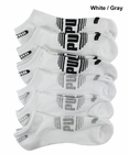 Puma- Mens 6 Pack 1/2 Terry Low Cut Socks