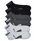 Puma Mens 6-Pack 1/2 Terry Quarter Crew Socks