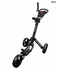 Qwik-Fold Golf- 2.0 Deluxe 3 Wheel Push Cart