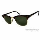 Ray Ban- Clubmaster Unisex Sunglasses 49mm