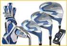 Ray Cook Golf- Ladies Silver Ray Complete Set With Bag Graphite