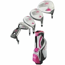 Ray Cook Golf - Ladies Silver Ray Complete Set With Bag Graphite