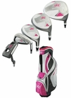 Ray Cook Golf- Ladies 2013 Silver Ray Complete Set With Bag