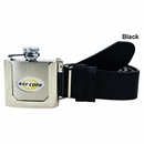 Ray Cook Golf- Logo Flask Leather Belt