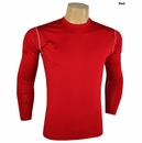 Ray Cook Golf - Long Sleeve Comfort Fit Mock Shirt
