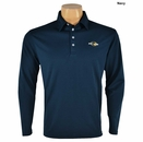 Ray Cook Golf- Long Sleeve Performance Polo Shirt