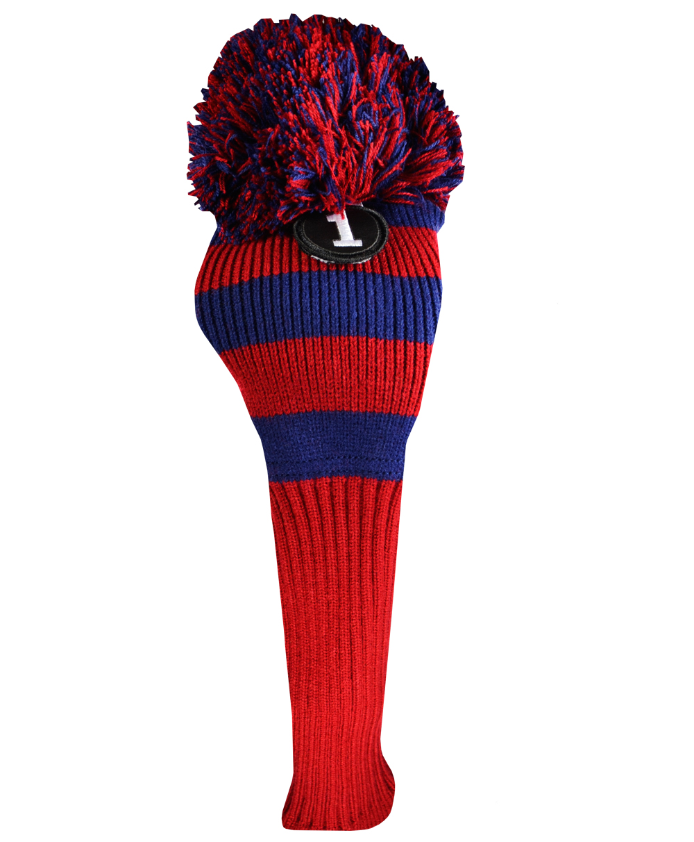 Ray Cook Pom Pom Knit Driver Head Cover by Ray Cook Golf - Golf Club Head Covers