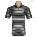 Ray Cook Golf- Striped Performance Pique Polo Shirt