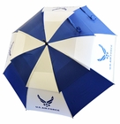"Ray Cook Golf- US Air Force Military 62"" Double Canopy Umbrella"