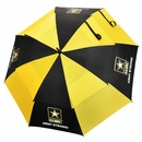 "Ray Cook Golf- US Army Military 62"" Double Canopy Umbrella"