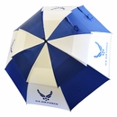 "Ray Cook Golf - US Military 62"" Double Canopy Umbrella"